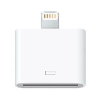 Apple Lightning to 30 pin Dock Connector - оригинален адаптер за iPhone, iPad, iPod с Lightning