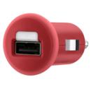 Belkin Mixit Car Charger 1Amp - зарядно за кола за мобилни тeлефони (червен)