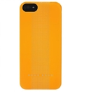 HUGO BOSS Dots Hardcover Yellow - луксозен кейс за iPhone 5, iPhone 5S, iPhone SE (жълт)