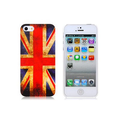 Retro Style Faceplate UK - поликарбонатов кейс за iPhone 5, iPhone 5S, iPhone SE