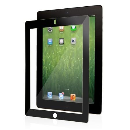 Moshi iVisor XT Clear - качествено защитно покритие за iPad 4, iPad 3/2 (черен)