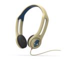 SkullCandy Icon 3 - слушалки с микрофон за iPhone и мобилни устройства (кремав)