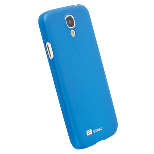 Krusell ColorCover - поликарбонатов кейс за Samsung Galaxy S4 i9500 (син)