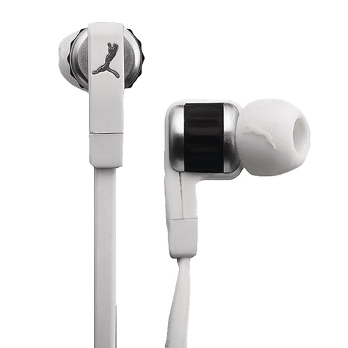 Puma El Diego Social Buds headphones for iPhone and mobile devices (white