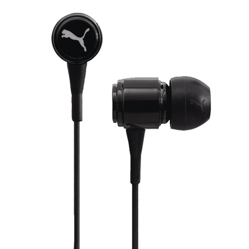 Puma Roadies headphones for iPhone and mobile devices (black)
