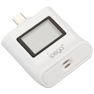 iPega Alcohol Tester MicroUSB for Samsung Galaxy S4, HTC One X and others (white)