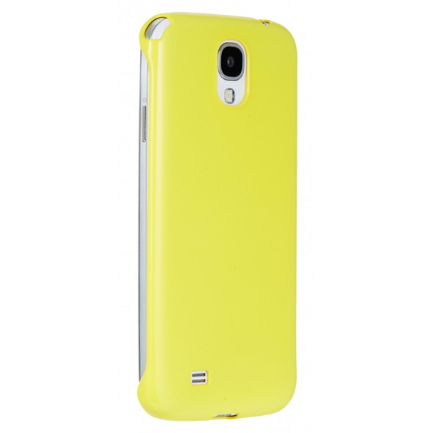 Anymode Made for Samsung Hard Case - поликарбонатов кейс за Samsung Galaxy S4 i9500 (жълт)