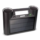 Soulra Rukus Solar - Bluetooth® audio system with solar panel and USB for mobile devices (blacK)