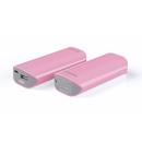 Tunewear Tunemax Barrel 5200 mAh - външна батерия с USB порт за iPhone, iPod и мобилни устройства (розов)