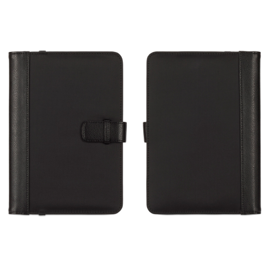 Griffin Passport Back Bay - кожен калъф за таблети до 8 инча (черен)