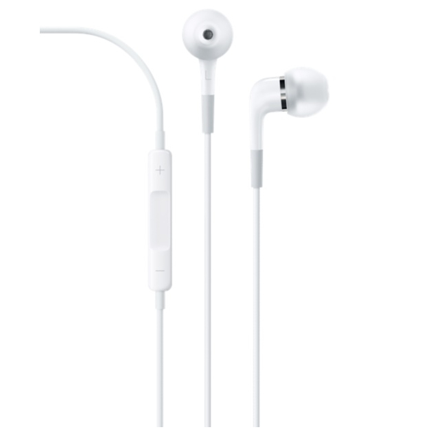 Apple In-Ear Headphones with Remote and Mic - слушалки с микрофон за iPhone, iPod и iPad (модел 2014)