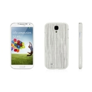Macally Texture Hardshell Case - поликарбонатов кейс за Samsung Galaxy S4 (бежов)
