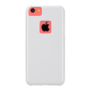 CaseMate Barely There - поликарбонатов кейс за iPhone 5C (бял)