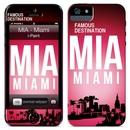 iPaint Miami Case - дизайнерски термополиуретанов калъф, защитно покритие за дисплея и скин за iPhone 5S, iPhone 5, iPhone SE