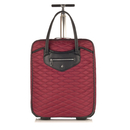 Knomo Scala North/South Trolley 15inch - Black Cherry