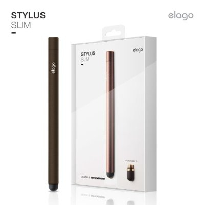 Elago Stylus Pen Slim for iPhone, iPad and capacitive displays (chocolate)