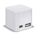 Soulra Boost Block 2000 - външна батерия с USB изход за мобилни устройства (2000 mAh) (бял)