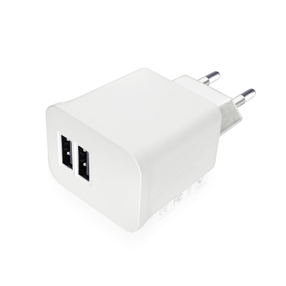 Degauss Labs Dual USB Wall Charger 2.1 A for iPhone, iPad, iPod, tablets and smartphones