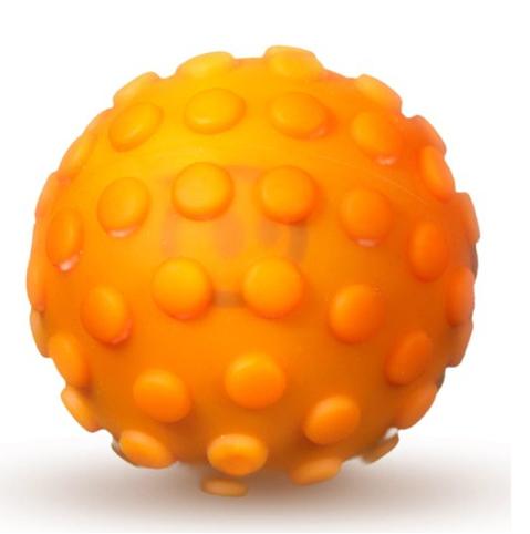 Orbotix Sphero Nubby Cover - скин за дигитална топка за игри за iOS и Android устройства (оранжев)