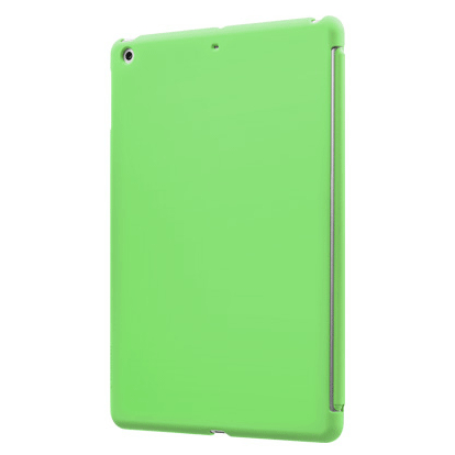 SwitchEasy CoverBuddy - поликарбонатов кейс за iPad Air, iPad 5 (2017) (съвместим с Apple Smart cover) - зелен