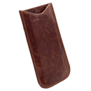 Krusell Tumba Mobile Pouch XXL - leather case for BlackBerry Q10, Galaxy Core i8260, Moto G and mobile phones (brown)