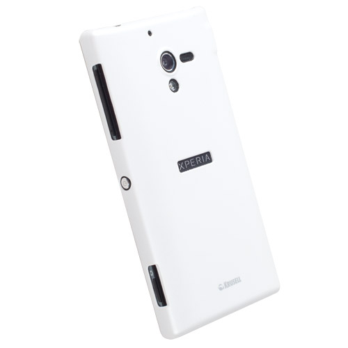 Krusell ColorCover - поликарбонатов кейс за Sony Xperia ZL (бял)