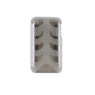 Hard Fishbone Back Cover кутия за iPhone 3G/3GS (прозрачна)
