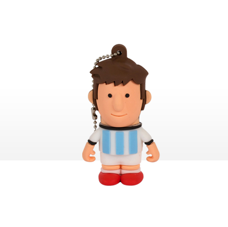 USB Tribe World Cup Argentina High Speed USB 2.0 Flash Drive 8GB - флаш памет 8GB
