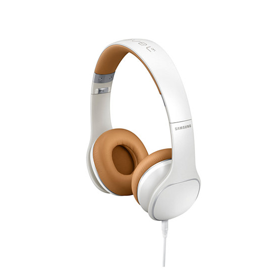 Samsung BT Headphone EO-OG900BB - аудиофилски слушалки с микрофон и управление на звука за Samsung смартфони (бял)