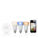 Philips Hue Connected Bulb Starter Pack - система за безжично управляемо осветление за iOS