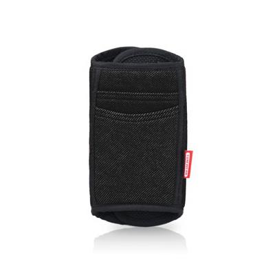 Tunewear Strapocket Jeans - универсален неопренов калъф за презрамки за iPhone 5/5S/SE/5C/4S/4 и мобилни телефони (черен)