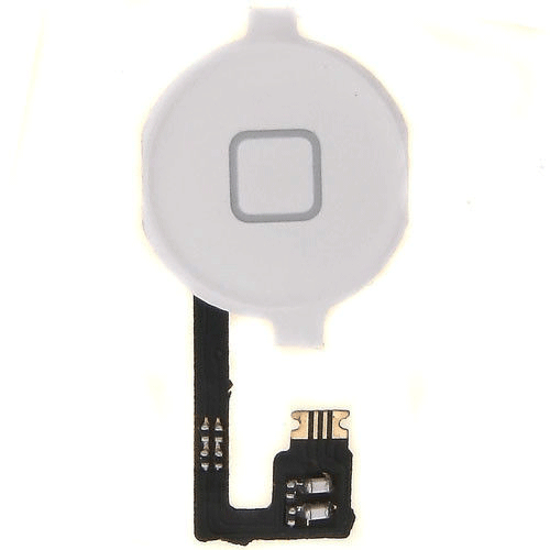 OEM iPhone 4 Home Button Key Cable (white)