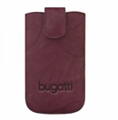 Bugatti SlimCase Unique Leather Case L - кожен калъф за Motorola Defy, Acer Liquid S100, BlackBerry 9800 Torch, Bold 9000, Bold 9700 и др.(лилав)
