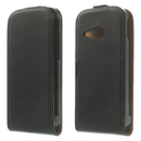 Leather Flip Case - ���������� ����� ����� �� HTC ONE 2 M8 Mini (�����)