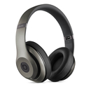 Beats by Dre Studio Wireless - професионални безжични слушалки с микрофон и управление на звука за iPhone, iPod и iPad (титан)