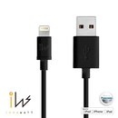Innowatt Round Lightning to USB Cable - USB ����� �� iPhone 5, iPhone 5S, iPhone 5C, iPod Touch 5, iPod Nano 7, iPad 4 � iPad Mini, iPad Mini Retina (�����)