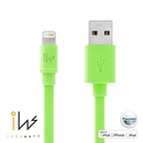 Innowatt Flat Lightning to USB Cable - USB ����� �� iPhone 5, iPhone 5S, iPhone 5C, iPod Touch 5, iPod Nano 7, iPad 4 � iPad Mini, iPad Mini Retina (�����)