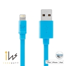 Innowatt Flat Lightning to USB Cable - USB ����� �� iPhone 5, iPhone 5S, iPhone 5C, iPod Touch 5, iPod Nano 7, iPad 4 � iPad Mini, iPad Mini Retina (���)