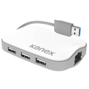 Kanex DualRole USB 3.0 Hub & Gigabit Ethernet Adapter - 3 портов USB хъб с Gigabit Ethernet адаптер за MacBook и преносими компютри