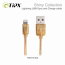 TIPX Sync and Charge Lightning Shiny - Lightning ����� �� iPhone, iPad, iPod (1 �����) (�������)