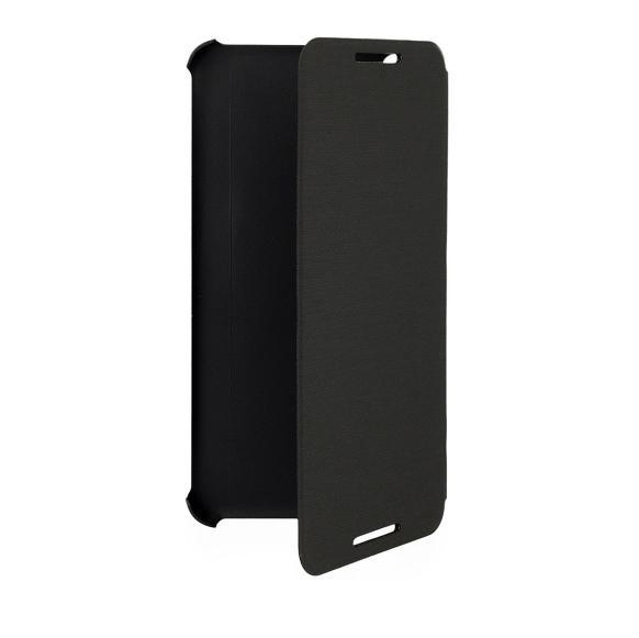 HTC Flip Case HC V950 - оригинален кожен кейс за HTC Desire 816 (черен)