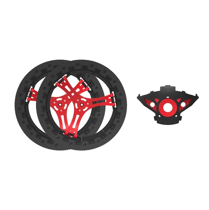 Parrot Jumping Sumo Customization Kit - предна част и колела за Parrot Jumping Sumo (черен)