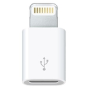 Apple Lightning to microUSB Adapter - оригинален адаптер за iPhone, iPad и iPod с Lightning (bulk)