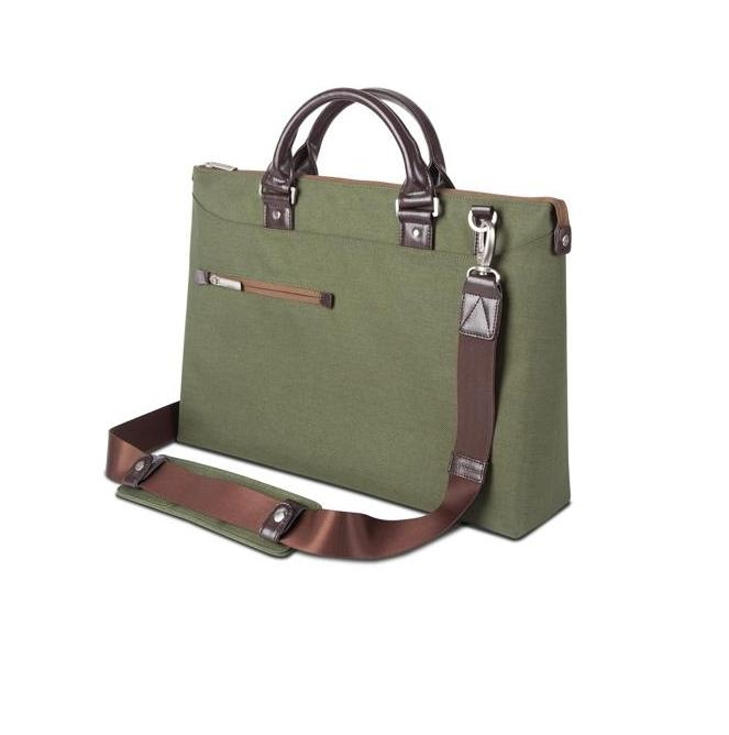Moshi Urbana Slim Laptop Briefcase for MacBook 15 and notebooks up to 15.4 inches