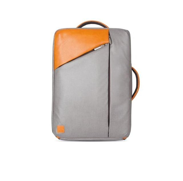 Moshi Venturo Slim Laptop Backpack - стилна раница за MacBook Pro 15 и лаптопи до 15.4 ин. (сив)