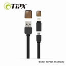 TIPX 2in1 Micro USB & Lightning Charge & Sync Cable - ����� �� Apple � ���������� � MicroUSB (�����)