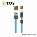 TIPX 2in1 Micro USB & Lightning Charge & Sync Cable - ����� �� Apple � ���������� � MicroUSB (���)