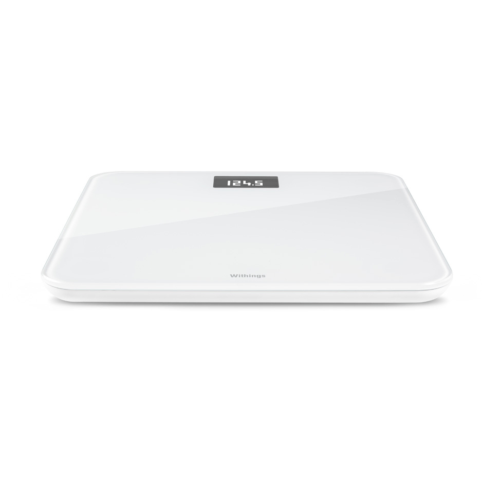 Withings Wireless Body Scale WS-30 - безжичен кантар с приложение за iPhone, iPad и iPod и Android (бял)