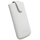 Krusell Asperö M Mobile Pouch for Xperia Tipo, HTC Explorer and mobile devices (white)