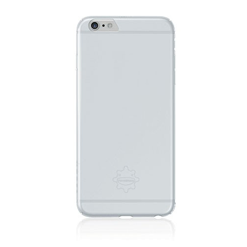Tunewear Eggshell case for iPhone 6 Plus, iPhone 6S Plus (clear white)